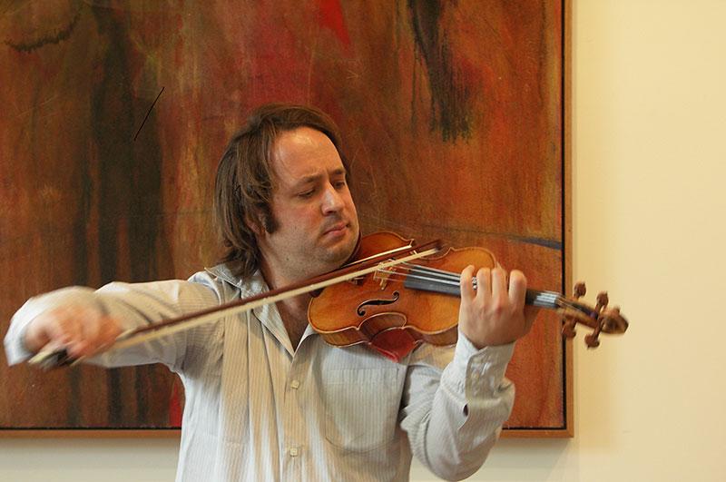 Orpheus Papafilippou at Joseph Curtin Studios