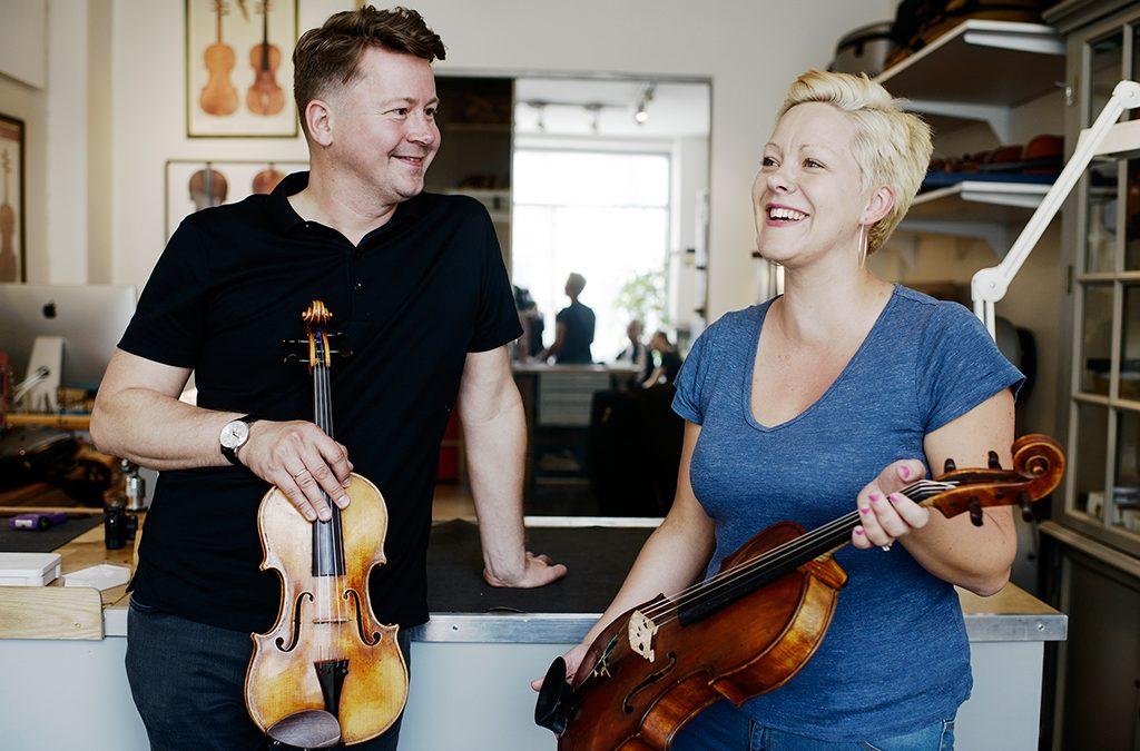 Dextra Musica foundation adds Curtin violin