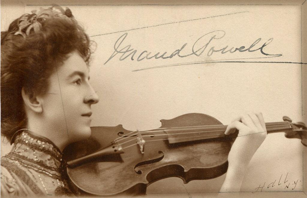 Maud Powell's Violin
