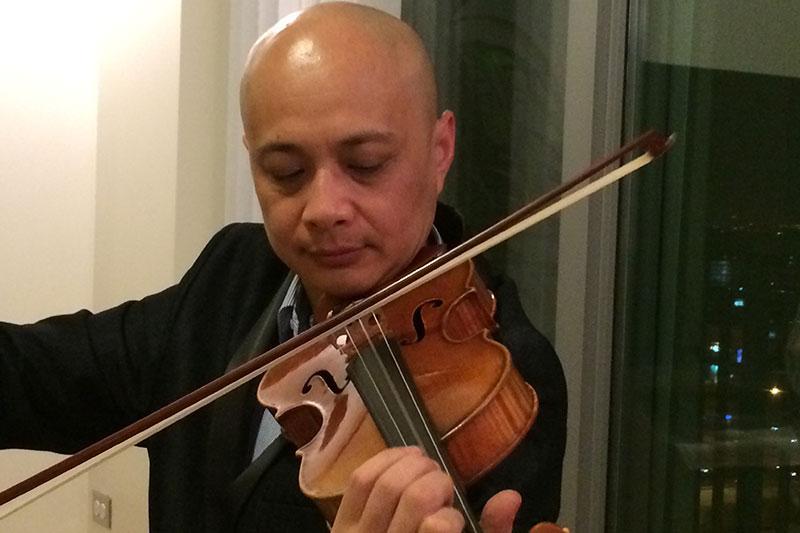 Kam-Lung Cheng, Violin