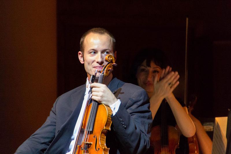 Nicholas Crosa, Violin