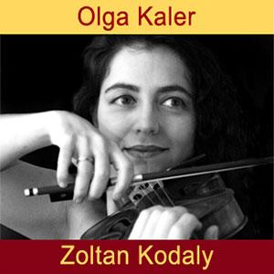 Olga Kaler, violin