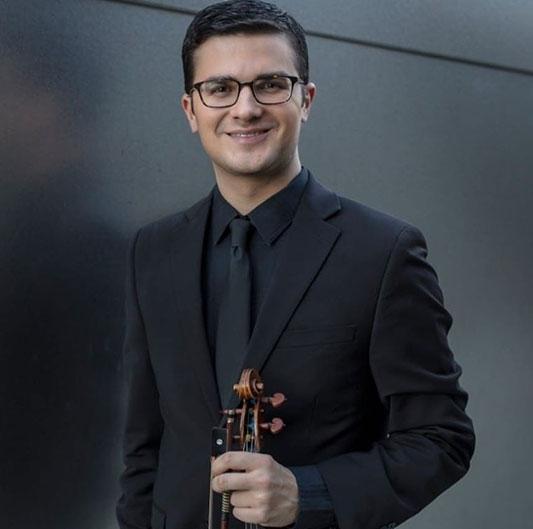 Jordan Koransky, Violin
