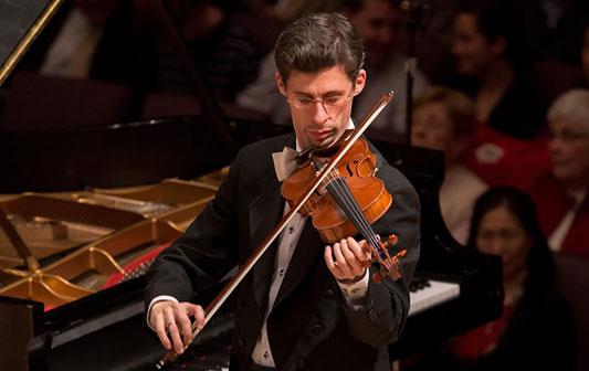Dovid Friedlander, Violin